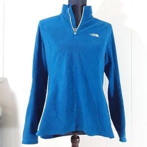 Northface 1/4 zipup fleece jacket